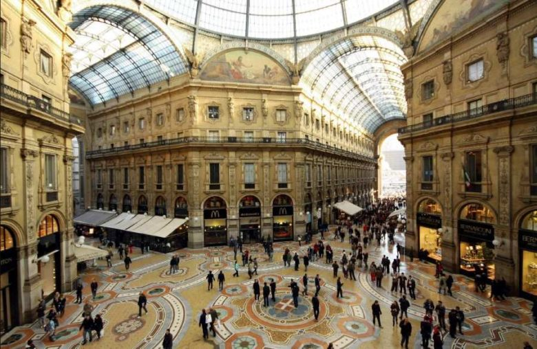 Luoghi belli da visitare a Milano Galleria Vittorio Emanuele II