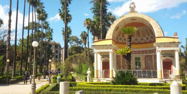 I migliori luoghi da visitare a Palermo - Villa Giulia