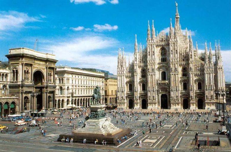 Posti belli da visitare a Milano Piazza del duomo