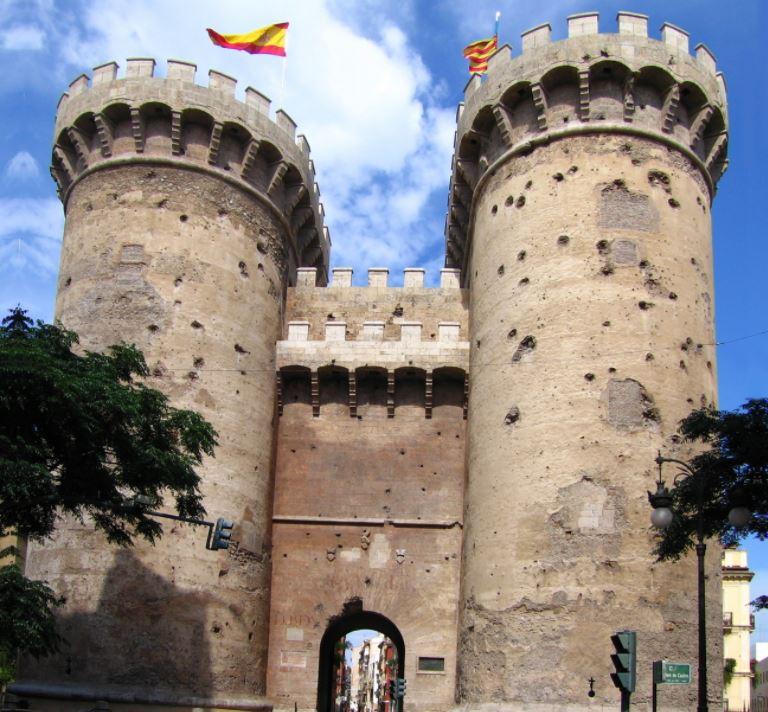 Cosa vedere a Valencia in un giorno Torres de Quart